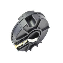 Low Profile Crab Style Replacement Distributor & Rotor Cap Male Black MSD Type image 9