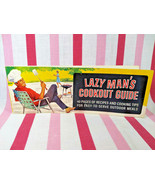 1966 Lazy Man's Cookbook Guide 40 Page Recipes Easy Outdoor Meals R.J. R... - $16.00
