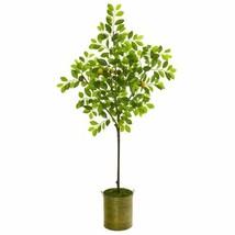 "Luxury Multicolor 67? Lemon Artificial Tree in Green Planter - 67"" - $248.29"