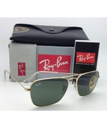 New RAY-BAN Sunglasses CARAVAN RB 3136 001 58-15 Arista Gold w/ G15 Gree... - $149.95