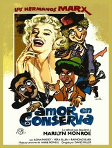 Decor Poster.Interior wall.Home room design.Marilyn Spanish movie.Comedy... - $9.90+