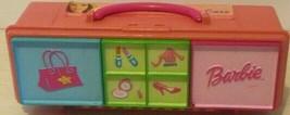 "Barbie Accessories Storage Case 3 Compartments 9"" L 1999 Mattel Tara - $12.22"