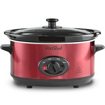 Vonshef Pot of Slow of 118.3oz of Stainless Steel - Dish Detachable - $141.80