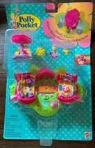Vintage Polly Pocket Totally Flowers Rose Hideaway Perfumery New Sealed Rare - $199.99