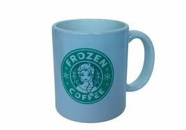 Frozen Coffee mug Cup Walt Disney Elsa Anna princess green USA olaf snowflake us - $24.14