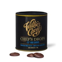 Willie's Cacao Venezuelan Dark Chocolate Drops 72% 150g - $12.62