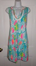 NWT LILLY PULITZER MULTI BEACH AND BAE HARPER SHIFT DRESS  - $108.89+