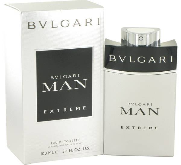 Bvlgari Man Extreme 3.4 Oz Eau De Toilette Cologne Spray