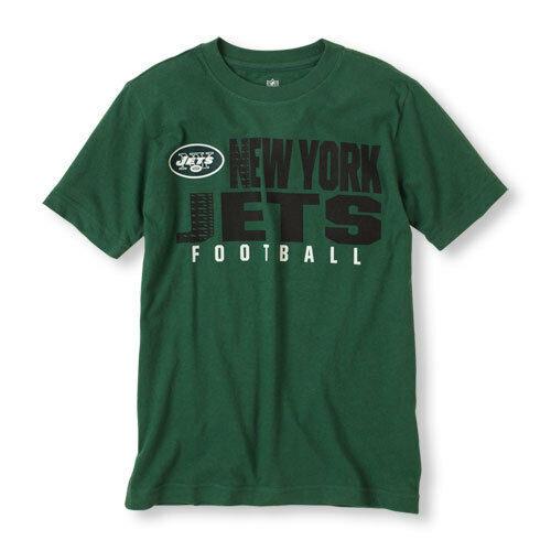 New York Jets NFL Team Apparel Boys  T-Shirt Sizes-4 or 5-6   NWT - $17.99