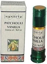 Nandita Patchouli Vanilla Roll On Oil   hippie  perfume fragrance oil diffuser - $9.99