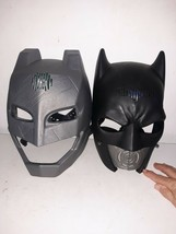 Batman Voice Masks Lot of 2 2015 Down of Justice 2018 Missions - $28.71