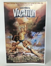 Chevy Chase Signed Autographed ''National Lampoons Vacation'' 11x17 Movie Poster - $199.99