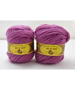 Rui Fu Xiang RFX Acrylic/Nylon Blend Soft Yarn - 2 Skeins Color Light Pu... - $7.55