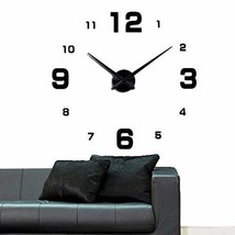 DIY Numbers Wall Clock KIT - The Perfect Treat Yourself with Adhesive Fr... - $27.99