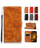 Leather Wallet Case Cover For XiaoMi POCO F1 CC9e Redmi 6Pro S2 Note 5 P... - $60.45
