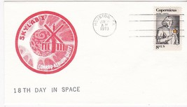 SKYLAB I 18th DAY IN SPACE HOUSTON TEXAS JUNE 11 1973 - $1.98