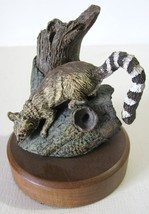 Vtg Deaton Ring Tailed Cat Lemur Figurine Audub... - $19.75