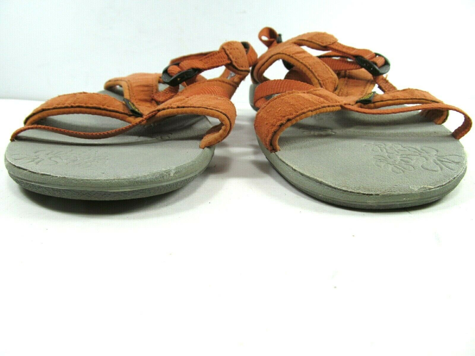 Keen Womens Orange Strappy Ankle Strap Sandals Size US 7.5  EUR 38 image 7
