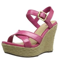 Ugg Jackilyn Java Leather Wedge Sandals, Us 9.5, New In Box - $39.59