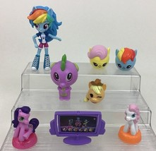 My Little Pony Figures Lot 8pc Girl Toys Friendship is Magic Hasbro McDo... - $17.77