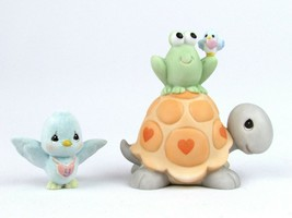 Precious Moments Fun Club Turtle/Frog/Bird-So Hoppy To Be Together-FC031  - $22.76