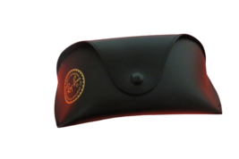 Ray Ban Black Aviator Sunglass Case Faux Leather Snap Case Belt Loop On ... - $7.91