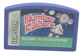 2005 Leapster Number Raiders Arcade Style Learning Cartridge