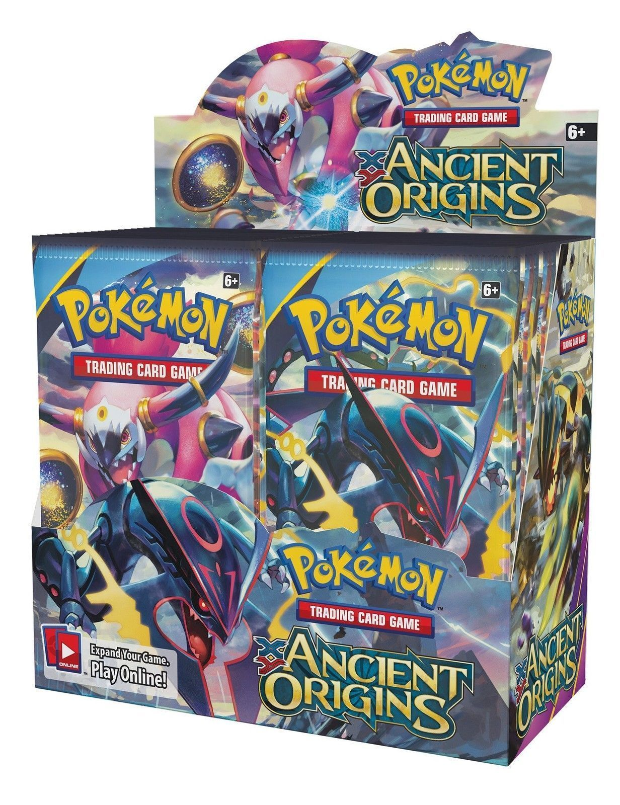 Pokemon TCG Sun Moon Forbidden Light + Ancient Origins Booster Box Card Game