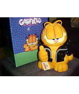 """11"""" Garfield Too Cool Cookie Jar By Westland Giftware Mint With Box & Ta... - $280.49"""