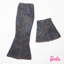 Set of 2 pcs Denim Skirt Mattel Barbie Doll Clothes ( Long + Short) - $8.15