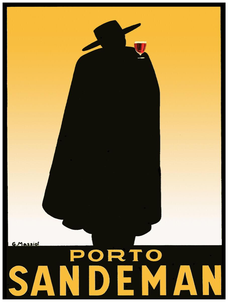 """18x24""""Poster Decor.Home Room Interior design.Porto Sandeman red wine.10570"""