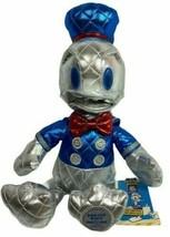 Disney Donald Duck 85th Anniversary Metallic Plush Small 15 Inch Special... - $23.74
