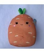 "Carrot Squishmallow 12"" Caroleena NEW Kellytoy - $38.61"