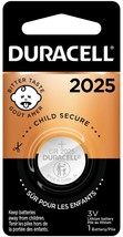 Duracell - 2025 3V Lithium Coin Battery - with bitter coating - 1 count - $8.85