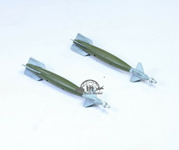 GBU-10 Bombs (02 pieces) for aircraft model 1:48 Pro Built Model - $19.78