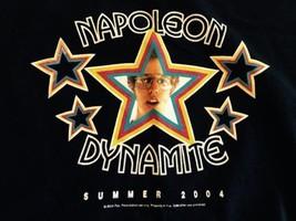 VINTAGE 2004 NAPOLEON DYNAMITE MENS SIZE MOVIE PROMO T SHIRT large - $12.83