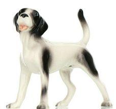 Hagen Renaker Dog Coonhound Happy Hound Ceramic Figurine image 3