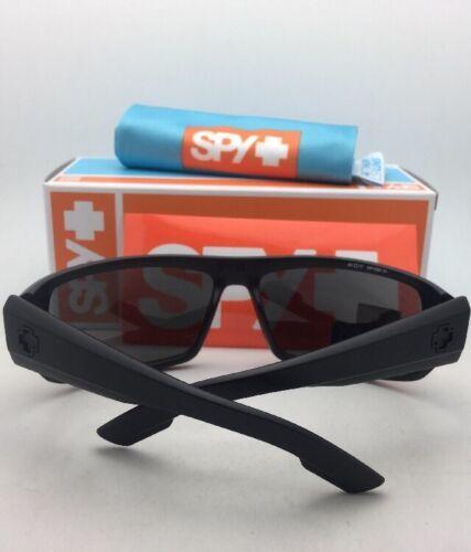 Polarisé Spy Optic Lunettes de Soleil Primes Noir Mat Cadre W / Ansi Z87.1 Gris