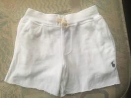 Polo Ralph Lauren toddler boys shorts slim fit pull on $45 white 2 /2T - $22.76