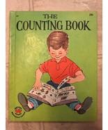 The Counting Book 1957 Mid Century Vintage Wonder Book John Peter & Bob ... - $14.01