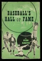 BASEBALL'S HALL OF FAME HARDCOVER IN D/J-1947-KEN SMITH FN/VF - $148.99