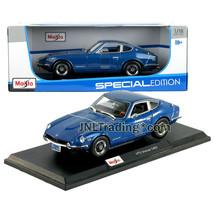 Maisto Special Edition 1:18 Scale Die Cast Car Blue 1971 NISSAN DATSUN 240Z - $49.99