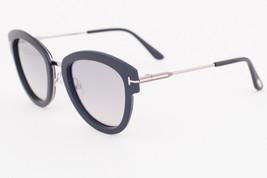 Tom Ford MIA Shiny Black & Gold / Gray Gradient Sunglasses TF574 14C MIA-02 - $185.22