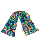 Groovy Tie Dye Hot Cold Long Neck Pack Microwave Heating Pad Reusable Ic... - $18.99