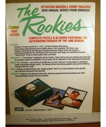 Sports Advertisement Donruss '86 First Edition The Rookies1986 - $5.39