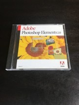 Adobe Photoshop Elements 2.0 Windows Mac CD with Serial Number - $28.97