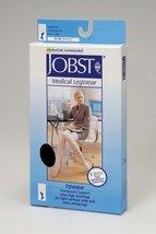 Jobst Opaque Knee High 15-20 mmHg Sock Size: Medium Petite,Color Classic Black - $38.32