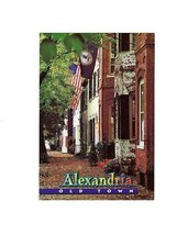 OVERSIZE POSTCARD- OLD TOWN HISTORIC DISTRICT IN ALEXANDRIA, VIRGINIA BK 8 - $2.91