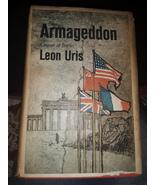 Armageddon by Leon Uris - $110.00