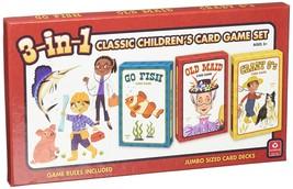 Cartamundi USA 3-in-1 Classic Children's Card Game Set - $16.40